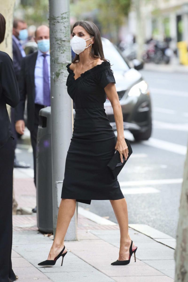 Regina Letizia a Spaniei in Madrid