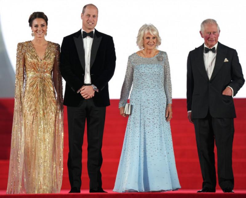 Prințul William, Ducesa de Cambridge, Camilla Ducesa de Cornwall și Prințul Charles