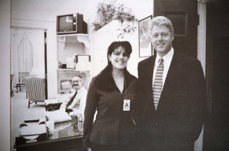 Monica Lewinsky și Bill Cinton