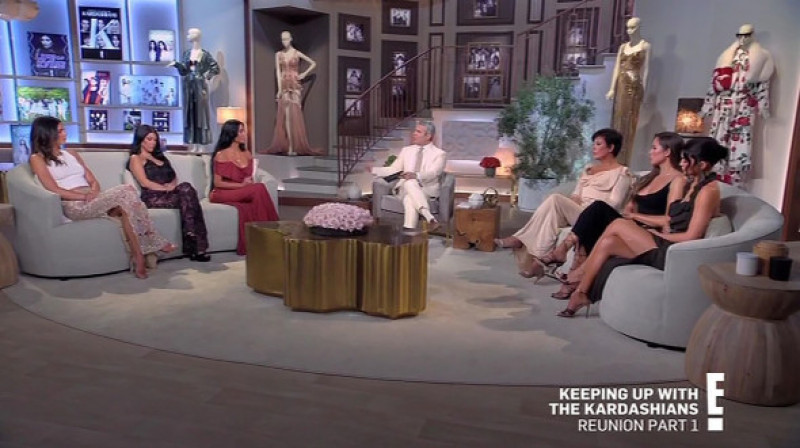 Kim Kardashian confesses she wishes she was 'only married once' before insisting estranged husband Kanye West will 'always be family' on Kardashian reunion show