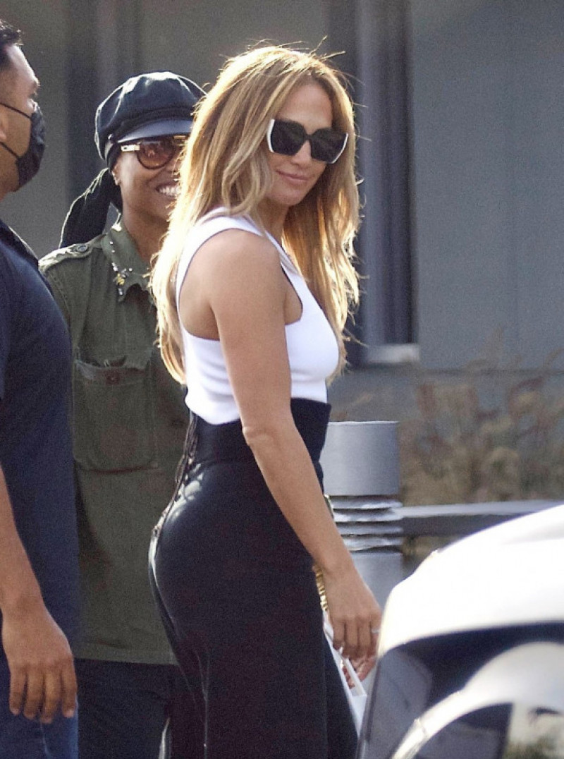 Jennifer Lopez Looks Ageless as she Jets Out of LA for 52nd Birthday Celebration with Pals, USA - 22 Jul 2021