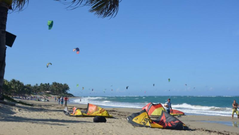 Kite Beach din Cabarete