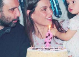 Fiica lui Catrinel Menghia a împlinit doi ani. Cum arată micuța și cine este tatăl ei