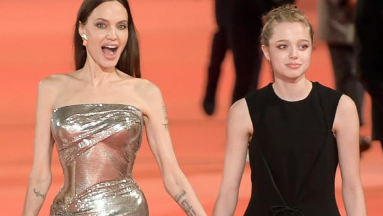 Shiloh, fiica Angelinei Jolie, încă o ținută spectaculoasă. Cum a apărut tânăra care voia să fie băiat la un eveniment din Londra