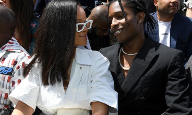 Rihanna si A$AP Rocky din nou impreuna sau doar prieteni?