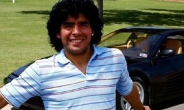 Cea mai mare ciudatenie din viata lui Maradona. Masina nemaivazuta condusa de fostul fotbalist