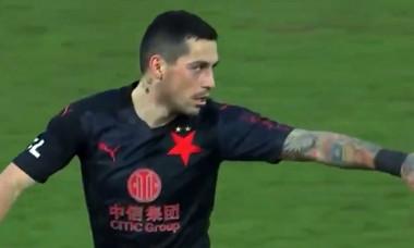 Stanciu nu a avut mila de Florin Nita in derby-ul Cehiei. Ce au facut fotbalistii romani VIDEO