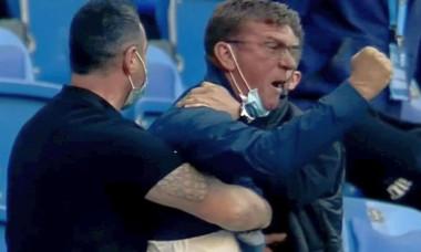Conflict violent la partida Universitatea Craiova - FC Botosani. Jucatorii si oficialii celor doua echipe s-au luat la bataie FOTO