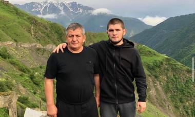 """VIDEO EMOTIONANT Khabib Nurmagomedov si-a anuntat retragerea dupa ultima victorie din UFC. """"Nu voi mai veni aici fara tatal meu"""""""