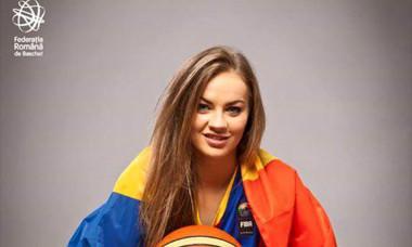 Una dintre cele mai frumoase sportive din România s-a retras din națională FOTO