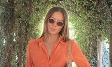 """Iubita tinerica a lui Brad Pitt a """"intepat-o"""" subtil pe Angelina Jolie, fosta sotie a actorului: """"Persoanele fericite nu urasc"""""""