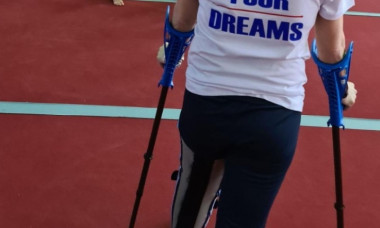 """Barna i-a adus titlul olimpic in tinerete si a bagat-o in carje la 52 de ani: """"Cred ca i-a fost dor de mine"""""""