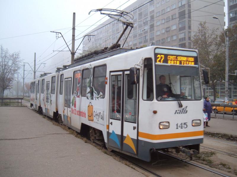 Tramvai in Bucuresti