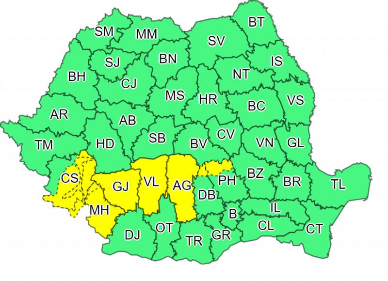 prognoza meteo in romania