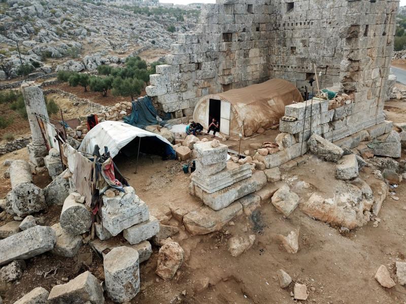 ruine siria razboi