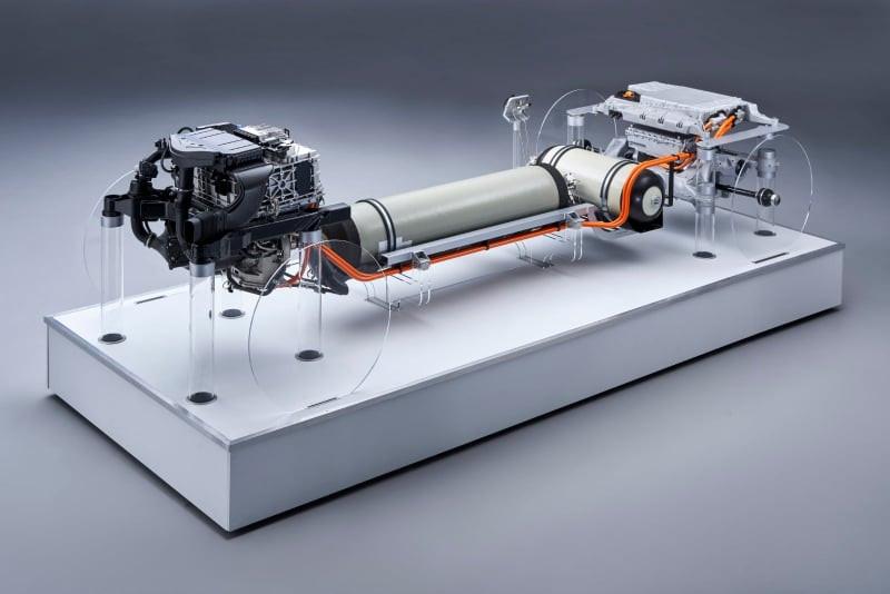 motor pe hidrogen